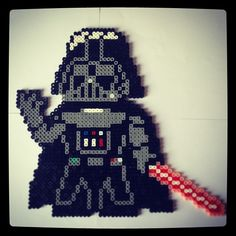 Star Wars Darth Vader hama perler beads by kaynoa01