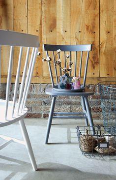Eetkamerstoel 101 Milan: ideale stoeltjes die goed passen in ieder interieur. Tip: ook leuk om je mooiste woonaccessoires op uit te stallen #101woonideeen #leenbakker