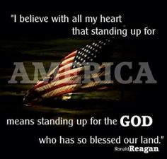 Stand up for America; stand up for GOD.  #TheStory #David