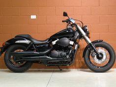 Honda Shadow Phantom.. Love it all blacked out!! :) I want I want!
