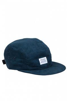 GOOD AS GOLD — 5 panel suede cap, Dark Navy // Indie Clothing Brands