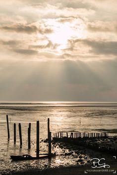 Genoten van een weekend Texel.... wél een zonsopkomst meegepikt! #haventje #DeCocksdorp