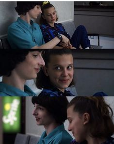 this scene made me blush inside💕 Stranger Things Aesthetic, Stranger Things Season 3, Cast Stranger Things, Stranger Things Netflix, Bobby Brown, Film Serie, Best Shows Ever, Cute Couples, Actors & Actresses