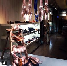 Sambag, Sydney 2014 Window display Ballet Bar, Shoe Rack, Sydney, Windows, Display, Home Decor, Floor Space, Ballet Barre, Decoration Home
