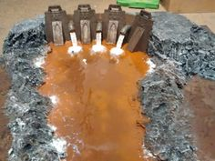 Dam, Industrial, River, Terrain