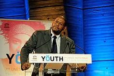 ©UNESCO/Mariana Keller- Mr. Forest Whitaker, UNESCO Goodwill Ambassador, delivering his speech at the 7th UNESCO Youth Forum, in October 2011.