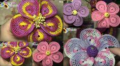 Crochet Fiore Bomboniera