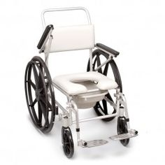 Silla de Baño para Ducha y Wc #baño #wc #adaptado #discapacitado #minusvalido #disabled #bath #bathroom #toilet #shower #higiene #inodoro #wheels #wheelchair