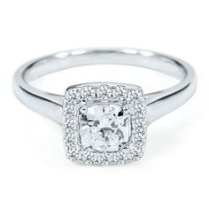 I love halo's, but I think plain bands are much more gorgeous than those with side diamonds. This way, you can have a fun wedding band and it not be overkill!!