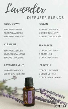 Lavender blends