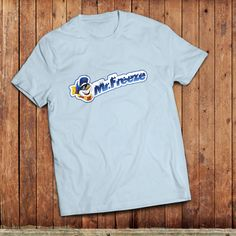 Mr Freeze T-Shirt Retro 1980's tuck shop ice pop old by Union9