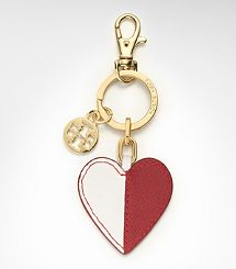 @Victoria McCoy Burch heart key chain