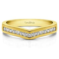 Diamond Classic Contour Wedding Ring set in Yellow Silver 025 Ct Twt Diamonds GHI2I3 with 025 cts of Diamonds in Yellow Silver *** Find out more about the great product at the image link.