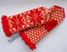 Бабушкин клубок (сайт о вязании спицами и крючком) - Варежки с орнамент   вязание   Постила