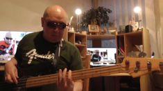 Backing Track E Minor Funky & Groovy Rock Blues HD720 m2 Basscover3 Bob ...