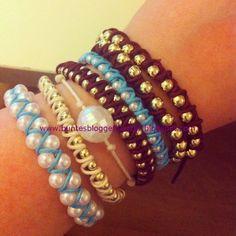 Buntes Blog-Geflüster: DIY: Armbänder selber machen