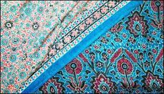 Ajrakh Printing By : Toolika Gupta at Textile Industry, Embroidered Cushions, Box Cushion, Floor Cushions, Home Collections, Bohemian Rug, Printing, Textiles, Flooring