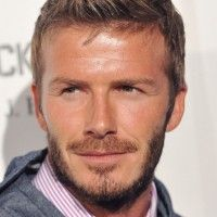 David Beckham Faux Hawk Haircut: Short Spiked Hairstyle for Men