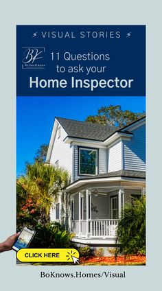 When buying a home, you should get a home inspection if possible. But how do you select the right home inspector?  And what questions should the buyer ask the inspector? Here are 11 questions homes buyers should be asking.  #homeinspection #homebuyer #homebuying #firsttimebuyer #realestate 🏡 👫 #HomeBuyers #DreamHome #FirstTimeBuyers #Buying #House #BoKnowsRealEstate #RealEstate ❤