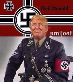 Image result for pics trump nazi clown idiot