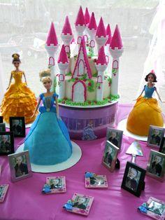girls 3rd birthday - princess