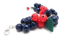 Blueberries Bracelet Blueberry Bracelet от JewelryPollysWorld