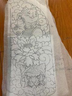 Japanese Flower Tattoo, Japanese Tattoo Designs, Japanese Flowers, Traditional Japanese Tattoo Flash, Back Tats, Frog Tattoos, Asian Tattoos, Japan Tattoo, Graffiti Drawing