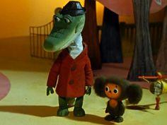 Cheburashka and Crocodile Gena Juri Gagarin, Russian Cartoons, Russian Lessons, Today Cartoon, Nostalgia, Russian Art, Children's Literature, Cool Cartoons, Animation Film