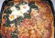 Pizza těsto z pizzerie hl m 0,5kg ol.olej 1 PL sůl 1PL droždí kostka studená voda 2,5dl Pizza, Dumplings, Quiche, Foodies, Food And Drink, Favorite Recipes, Bread, Cooking, Breakfast