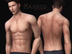 - V1 Full skin overlay with slider friendly legs  Found in TSR Category 'Sims 4 Skintones'
