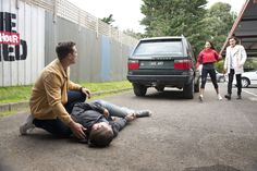 ​Neighbours mechanic Tyler Brennan is involved in a shock accident while dealing with some devastating news next week.