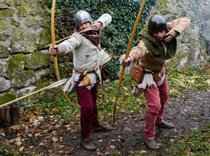 Medieval Archer, Gn, Classical Antiquity, Late Middle Ages, Wars Of The Roses, Longbow, Traditional Archery, Steampunk Costume, Medieval Times