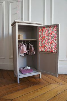 64 Trendy Walk In Closet Ideas Master Suite Shelves Recycled Furniture, Kids Furniture, Painted Furniture, Baby Bedroom, Kids Bedroom, Baby Deco, Deco Kids, Home Room Design, Little Girl Rooms