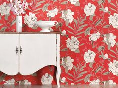 Hot Pattern Trends - The New Florals inspired by historic botanical books, especially in cotton prints and wallpapers. It's like chintz in a new way. This isn't Grandma's floral wallpaper: Think large-scale patterns, vibrant blooms and big, bold hues.