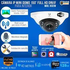 Control y Seguridad Online (@controlalarma) • Fotos y vídeos de Instagram Camara ip mini domo, proteccion y seguridad para tu casa o tu negocio. Control, Mini, Instagram, Ip Camera, Security Systems