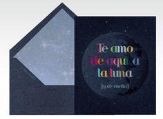 Tarjetas de amor, tarjetas de San Valentín, tarjeta de enamorados, Día de San Valentín, Día de los enamorados, Día del amor, amor, 14 de febrero, luna, romántico, cielo    Para más Info Visita: La Belle Carte www.LaBelleCarte.com    Online cards Saint Valentine's Day, online greeting cards Saint Valentine's Day,love, cute, sky, romance     For More Info Visit: La Belle Carte www.LaBelleCarte.com/en