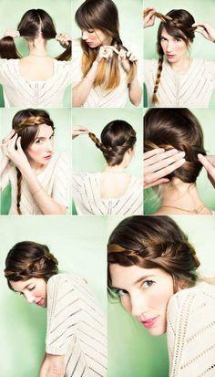 #Hairstyle para el verano: Corona de trenzas paso a paso