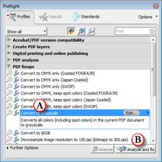 Convert PDFs to Greyscale in Acrobat