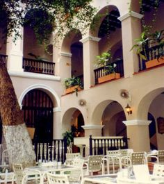 Hotel El Convento, San Juan, Puerto Rico; across from the cathedral; good lunch spot