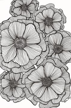 Doodle art 56295064077700150 - JPG file that can be used to create greeting cards, gift tags, tissue paper for decoupage, and whatever else you can imagine. Makes a great background for other designs. Source by bOnObOboo Zentangle Drawings, Zentangle Patterns, Art Drawings, Mandala Drawing, Doodle Patterns, Art Patterns, Zentangle Art Ideas, Patterns To Draw, Pattern Art
