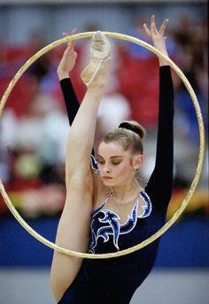 Yulia Barsukova, Russia, is the 2000 Grand Prix Final All-around champion and 1999 Grand Prix Final All-around bronze medalist.