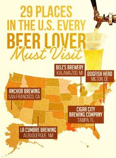 29 Breweries In The U.S. You Must Visit Before You Die
