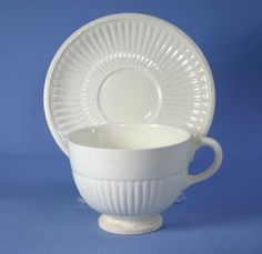 Wedgwood Edme 502207 Cup and Saucer Set (Footed) 2 3/4