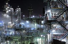 Night view / Japanese factory
