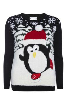 Il pinguino natalizio
