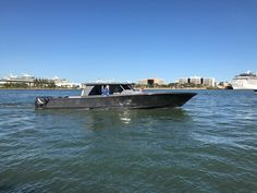 Gulfstream Yachts 52 walkaround center console boat with air-conditioned helm and passenger seating area. Center Console Fishing Boats, Yachts, Building, Travel, Viajes, Buildings, Destinations, Traveling, Trips