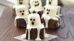These spooky boo brownies will make you melt this Halloween!