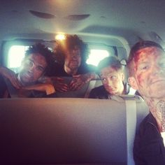 Can we please talk about Patrick's face<< He's just like seriously Pete you're gonna do that now we're covered in blood