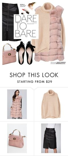 """Dare to bare"" by punnky ❤ liked on Polyvore featuring MANGO"