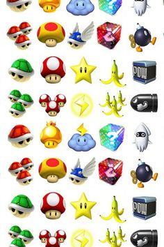 Choose your weapon! Mario Kart